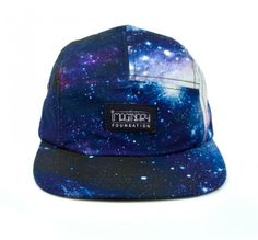 Imaginary Foundation All Over Cosmic 5 Panel - Hats - Store - $34.95 | I love 5-panel hats.