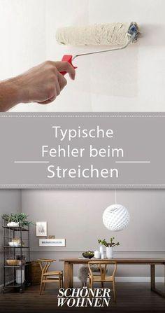 Typische Fehler beim Streichen - und wie sie sich vermeiden lassen. #einrichten #wohntipps #wohnideen #ratgeberwohnen #ratgeber #wohnen #wohnberatung #streichen #kitchen #howto #wall