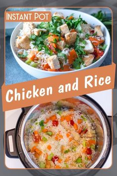 Pressure cooker one-pot meal of rice and chicken you can make in only 15 minutes!    Easy, tasty and quick this recipe is perfect for a busy weeknight. If you have leftover, keep it for lunch the next day.    This is a very delicious meal which fulfills your appetite and provides you a unique flavor to taste.