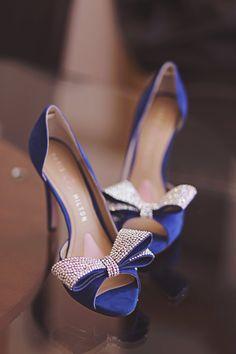 Angelesque stilettos chaussures bleu pour avoir votre détail bleu
