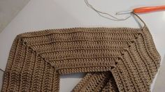 Dress in crochet in yarn with an easy graphic. see to do. | Crochet Patterns