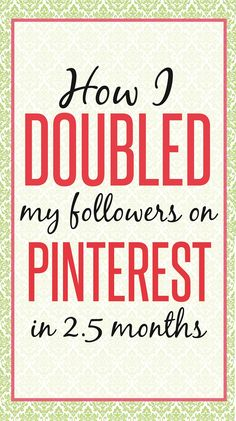 Click here to get the blog profits blueprint blogging help centre how i doubled my pinterest followers in 25 months struggling to grow your pinterst followers malvernweather Gallery