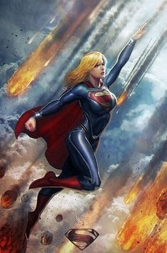 Supergirl, man of steel style