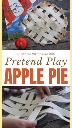 Make your autumn season one to remember. Create this Pretend Play Apple Pie activity that counts as Autumn Arts and Crafts, DIY activity, Apple Pie Decoration, Fall Snack Craft, Pie Arts and Crafts, Autumn themed decoration, DIY Arts and crafts for kids, Pretend Play arts and crafts, Apple Pie Replica all in one! Is it even Autumn Season without Apple Pie? Check the blog for more details! #Artsandcrafts #DIY #replica #Kidsactivity Easy Diy Crafts, Diy Arts And Crafts, Crafts For Kids, Pie Decoration, Pies Art, Fall Snacks, Learning Shapes, Preschool At Home, Learning The Alphabet