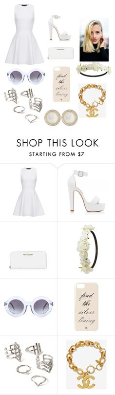 """""""Untitled #56"""" by dallassanders7 ❤ liked on Polyvore featuring Proenza Schouler, Forever New, MICHAEL Michael Kors, Charlotte Russe, Wildfox, Kate Spade, Forever 21, Chanel and Ippolita"""