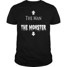 I Love  The Man And The Monster T Shirt T shirts