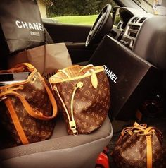 Louis Vuitton and Chanel
