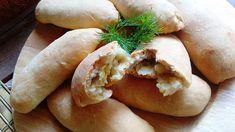The gastrin: ΝΗΣΤΙΣΙΜΑ ΠΑΤΑΤΟΠΙΤΑΚΙΑ ΦΟΥΡΝΟΥ Greece Food, Hot Dog Buns, Food And Drink, Potatoes, Bread, Snacks, Vegan, Chicken, Baking
