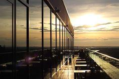 Bonn Marriott Dachterasse - Perfekter Hotspot für Cocktails
