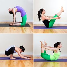 This yoga sequence totally helped my belly feel better.