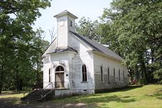 This old Church of Christ / Community Building in Hopper, Arkansas, US, is over 100 years old.
