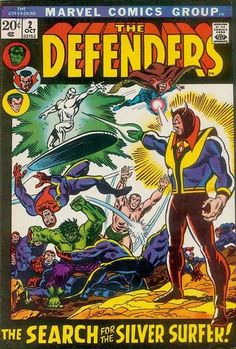 Defenders # 2 by Sal Buscema & Frank Giacoia
