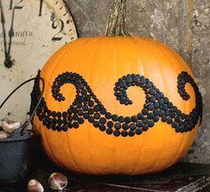 wave pattern pumpkin