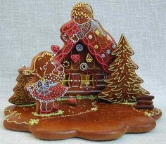 images of gingerbread houses | Gingerbread Houses