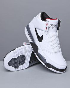 Nike flight sneaker. awesome for Kevin...bought em for Christmas! Kev's looking hot :)