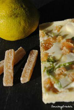 Ginger-Lemon-Schokolade - Ginger n Lemon Chocolate