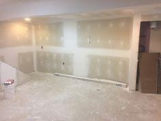 Finishing Drywall - DIY Finished Basement