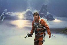 Skywalker - orange flight suit..