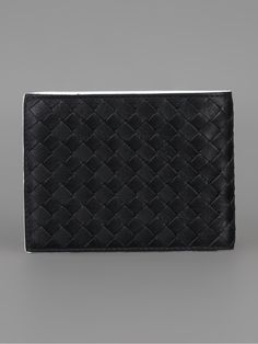 Bottega Veneta Bi-Colour Woven Wallet - Al Duca D'aosta - farfetch.com