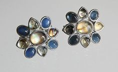 Monet Silvertone Clip On Earrings - Blue and Moonstone Cabochon Accents Monet http://www.amazon.com/dp/B011M6P7PI/ref=cm_sw_r_pi_dp_hBo5vb082G4NK