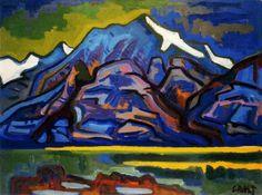 Karl Schmidt-Rottluff, Mountains