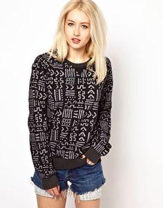 Worn By Aztec Sweatshirt