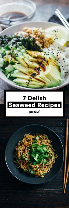 """Check """"be a more adventurous eater"""" off your 2017 bucket list. #greatist http://greatist.com/eat/easy-seaweed-recipes"""