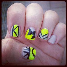 Got my nails did yesterday @sonjalandynails #brawley