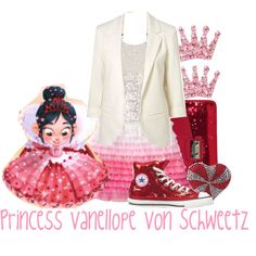 Vanellope dress inspiration