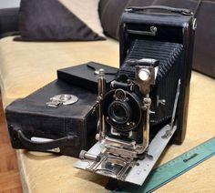 Dr.Krügener, Krugener, Delta Halloh. pre Zeiss ,Ica,Ernemann rare folding camera