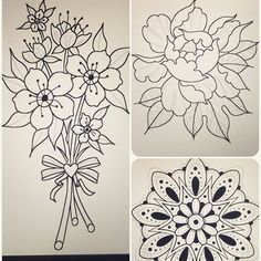 ✨More drawings available to get tattooed today!✨ I'm taking walk ins starting at 1:00pm - it's first come, first served, so those who get to the shop early, will get tattooed first. I'm only tattooing my designs today, so if you'd like to get something else, you can book an appointment or get tattooed by one of my talented coworkers from 1-9 today!!✌️✌✌ #blackcobratattoos #littlerock #arkansas #ladytattooers