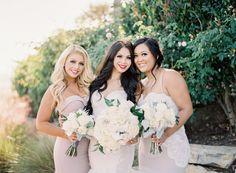 优雅+迷人的Al Fresco加州婚礼