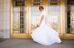 weddings at draper lds temple    www.MormonLink.com  #LDS #Mormon #SpreadtheGospel