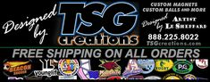 "TSG's ""Nothing But The Best"" in Custom #Car #Magnets & more means no one beats the ALL inclusive pricing & #value at http://www.TSGcreations.com"