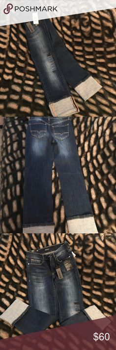 Buffalo David Bitton jeans New Buffalo David Bitton curvy fit straight jeans. Mid rise straight stretch Buffalo David Bitton Jeans Straight Leg