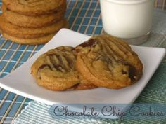 When I crave chocolate, I usually crave Chocolate Chip Cookies. So, I've made a lot of Chocolate Chip cookies in my days and I have never found one that I can say are the best. Until now! Friends, you have to try this recipe - they will be THE BEST Chocolate Chip Cookies you'll try. I