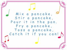 PANCAKE GAMES want some pancake fun for kids on Shrove Tuesday? We've got songs to sing, games to play and a lovely 'Pancake Toppings' free printable. Pancake Party, Pancake Toppings, Preschool Lessons, Teaching Kindergarten, Fun Activities For Kids, Preschool Activities, Pancake Day Crafts, Simple