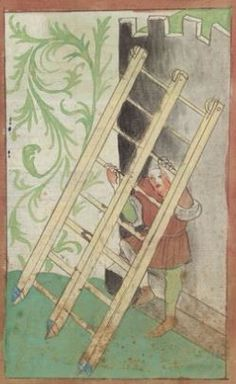 Kriegstechnik (Bilderhandschrift) Oberrhein · um 1420-1440 Ms. Rh. hist. 33b  Folio 80r