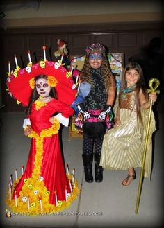 La Muerte Costume from The Book of Life - 3