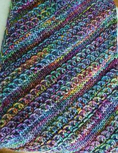 That Nice Stitch by Susan Ashcroft | malabrigo Rios in Arco Iris