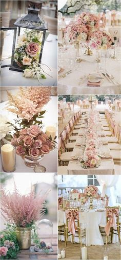 dusty rose wedding color ideas for 2018 .- staubige Rose Hochzeit Farbideen für 2018 … – Dekoration Selber Machen dusty rose wedding color ideas for 2018 … ideas - Dusty Rose Wedding, Gold Wedding, Wedding Table, Dream Wedding, Burgundy Wedding, Summer Wedding, Trendy Wedding, Wedding Seating, Casual Wedding