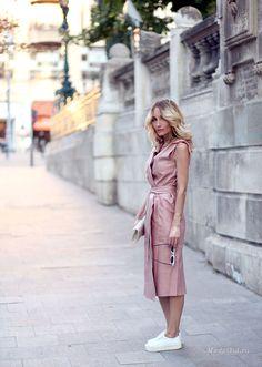 Уличная мода: Приятная метаморфоза с Silvia Postolatiev: лето 2016
