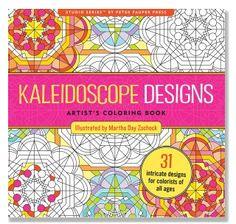 Kaleidoscope Designs Coloring Book | underthecarolinamoon.com