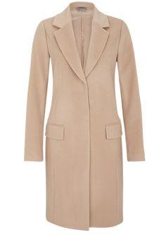 Schmaler Wollmantel von s.Oliver. Entdecken Sie jetzt topaktuelle Mode für Damen, Herren und Kinder online und bestellen Sie versandkostenfrei.