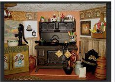 Grandma doll kitchen