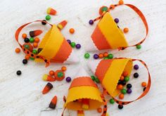 Candy Corn Party Fav