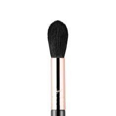 "Sigma F35 Tapered Highlighter Brush $24 (Copper Ferrule) Excellent for adding powder highlight or for setting concealer in your ""triangle of light""!"