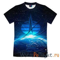 Мужская футболка 3D с полной запечаткой Космические войска купить в интернет магазине WsemPoMayke.Ru http://wsempomayke.ru/product/manshortfull/1068784  Доставка по России курьером или почтой, оплата при получении. Посмотреть размеры и цену > http://wsempomayke.ru/product/manshortfull/1068784