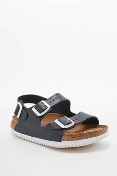 Birkenstock Milano Sandals in Black