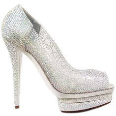 Mercedeh Shoes - Catalogue : Limited Edition > Limited Edition > Pumps : 66553 CRYSTAL